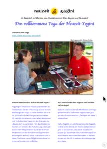 Neuzeityogini Yoga Clarissa Wien Gerasdorf