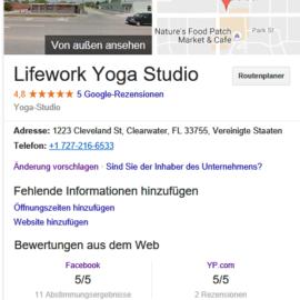 Lifework Yoga Bewertung